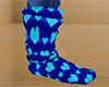 Heart Socks Slouchy 6 M