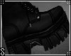𝓢. LEATHER BOOTS -M