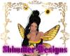 Honey Bee Flower Antenna