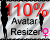 *M* Avatar Scaler 110%