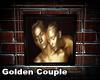 Golden Couple Art Frame