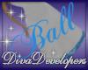 Diva Lt Blue Ball Skirt