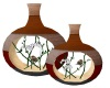 Wooden Nature Vases