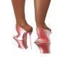 Pink Shimmer Stilettos