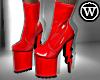 ⓦ HIGH VOLTAGE Red