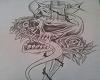 skull blad