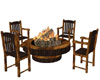 ~Fire Pit with Chairs~