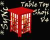 *Sync Table Top Shoji V4