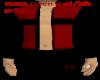 *KR-M Open Red blk Shirt