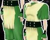 ; Toph top+skirt