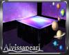 Neon Galaxy Side Table