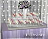 H. Lavender Drink Table
