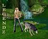 Fox/Gray Wolf Animated