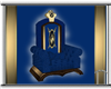 Blue and Gold Throne