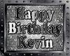 KEVIN bday balloons
