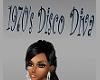 1970's Disco Diva Sign