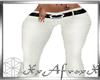 White Stylish Pants RLL