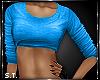 ST: Sweat : Top Blue