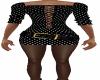 Black  ST Belt Dress