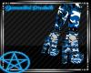 (D) Blue Camo Boots (F)