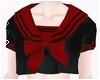 Schoolgirl Black & Red
