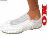 stepper white shoes man
