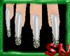 [sn] glitter green nails
