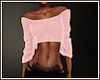 *N* Crop Sweater Pink