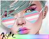 Trans Pride Glasses