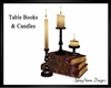 Table Candles & Books
