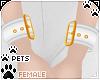 [Pets] Wristcuff   white