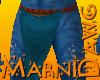 Na'vi Male Bottom Blue