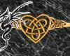 [LD]G CelticHeart Ring M