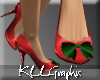CHRISTMAS HOLLY HEELS