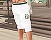 Ksa White Shorts