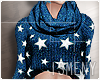 [Is] Stars Sweater Blue