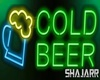 Cold Beer Neon