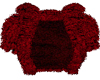 Royale Garnet Fur Shrug