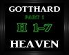Gotthard~Heaven Pt 1