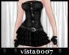 [V7] BlackWaves Dress