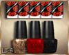 10# Nails Roses