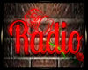 Wall Neon Radio Sign