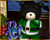 I~Pet Green Xmas Bear