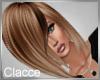 C amber light brown hair