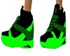-x- toxic green kicks