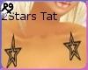 Two Emo Stars Tattoo F