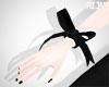 💜 Ribbon Bracelet