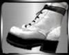 (K) white&black boots