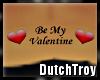 Be My Valentine tattoo