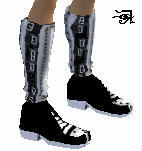 Armored Goth Boots